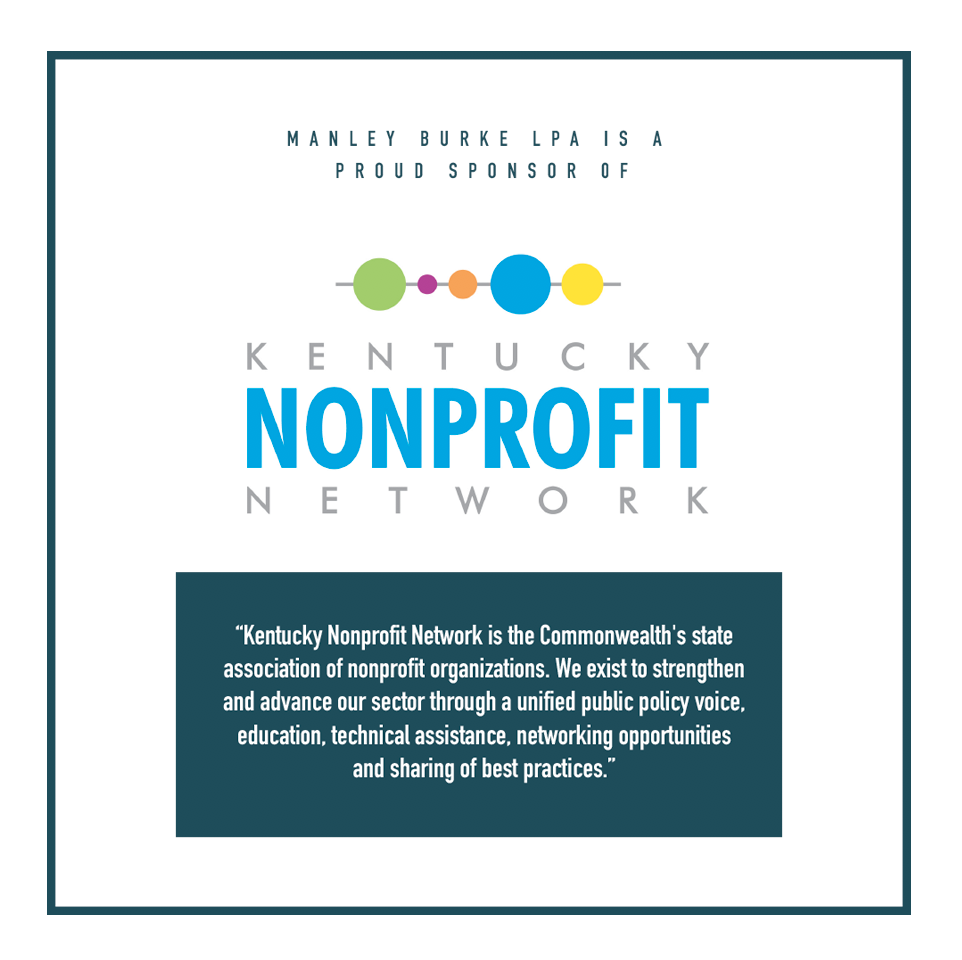 Proud Sponsors of  Kentucky Nonprofit Network